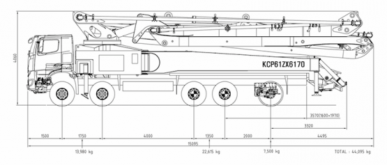 Dicom Machinery KCP61ZX6170 - Pumppuauto