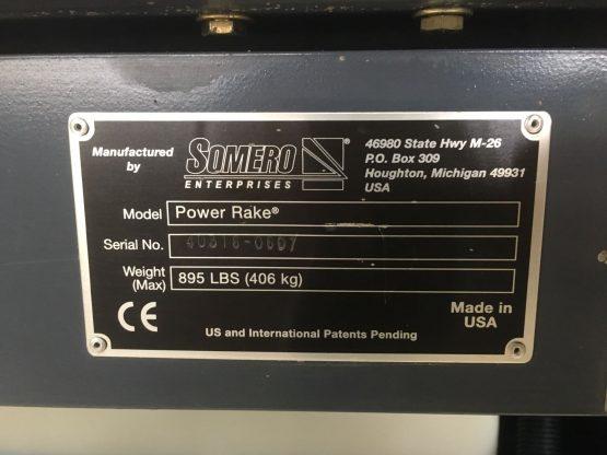 Käytetty - Somero - Power Rake