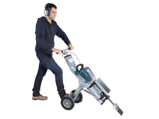 Makinex Jackhammer Trolley - Piikkausvaunu