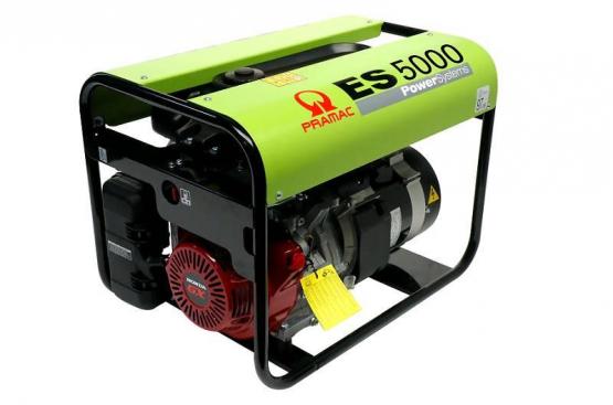 Pramac ES5000 - Aggregaatti